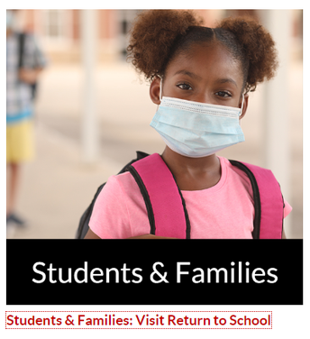 Click to VIsit KISD Return to School Page