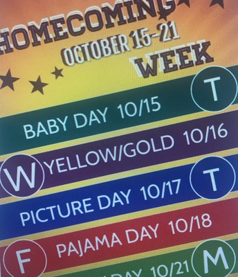 Homecoming Week Activities Conclusion