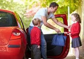 PICK-UP AND DROP-OFF REMINDERS