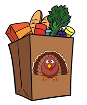 Thanksgiving Grocery Giveaway Will Take Place this Saturday, November 23, 11:00-1:00