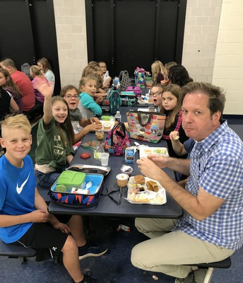 Lunch with Students