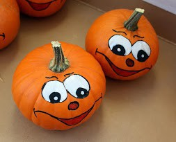 Pumpkin Painting Activity