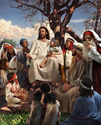 Jesus Teaches on the Mount