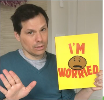Michael Ian Black Reads I'm Worried