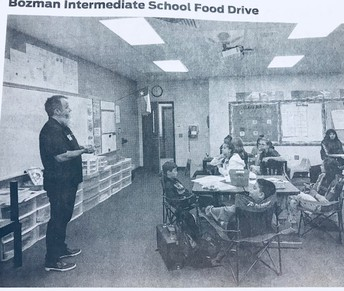Bozman Student Council Featured in the Conroe Courier