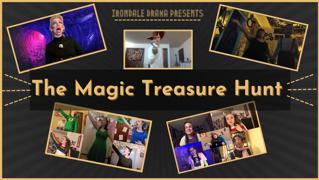 Join a virtual Magic Treasure Hunt with Irondale Drama!