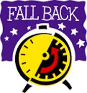 Daylight Savings Time Ends, Sunday 11/3
