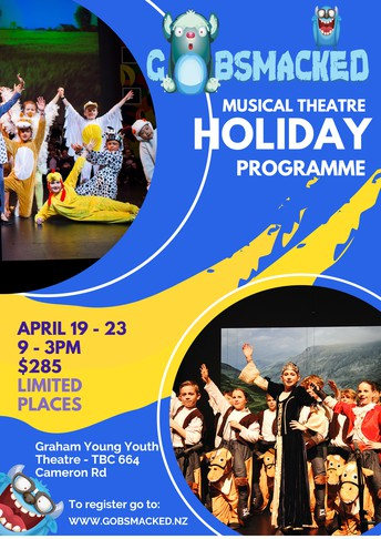 Musical Theatre Holiday Programme Registration