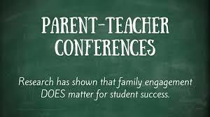 Parent-Teacher Conferences - November 1 & November 8