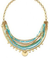 Isa Disc Necklace- $118