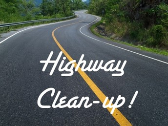 HIGHWAY CLEAN-UP: October 27th