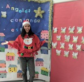 Mrs. Williams...Staff Ugly Sweater Winner!