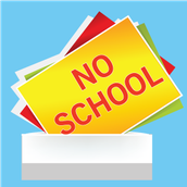 NO SCHOOL UDPATE: Staff Development Day and Labor Day