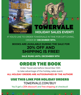 Sale on Towervale Books