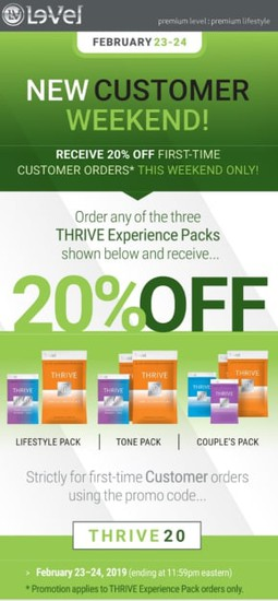 New Customer Weekend! | Smore Newsletters for Business
