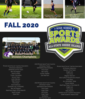 Fall 2020 Student-Athlete Honorees