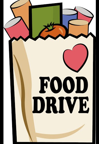 PTA hosted Food Drive at Materials Pick-up on Thursday, February 25.