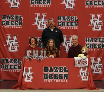 Catherine Crabb Signs with Freed-Hardeman