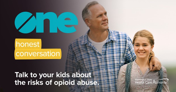 Talk to your kids about the risks of opioid abuse