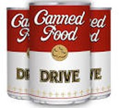 Canned Food Drive - November 1-18