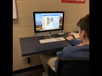 Students apply learning to coding app-based games