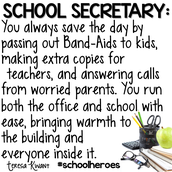 We Love our Secretaries!