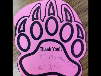 Danville Bears have an Attitude of Gratitude!