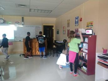 6th grade HOPE Gallery walk!
