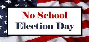 Don't Forget! No School Tuesday, Office will be Closed!