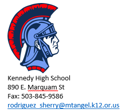 Contacto de Kennedy High School