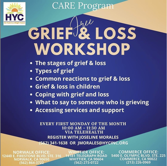 Grief & Loss Workshop hosted by HelpLine