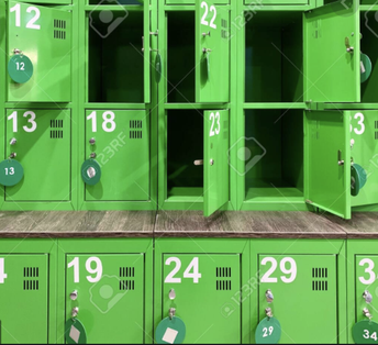 Locker Clean-out and PE Lockers