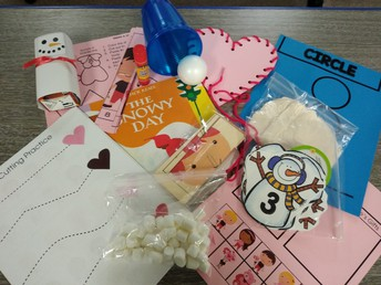 Pre-register your 3-5 year old and pick up your to-go kit full of activities designed around snowmen and Valentine's Day.  Kits include playdough, Valentine cards, a pre-recorded book, large and small motor activities, and some fun science experiments!  Don't miss this opportunity for some quality family engagement time.  Max of 20 kids are available so register before they are gone!  Kits will be ready for pick up after February 3.   Fee: $5