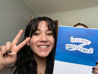 Salome Moreno heads to Middlebury!