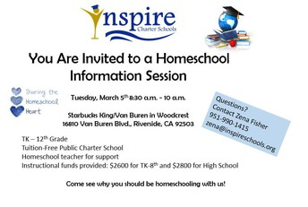 Riverside Info Session!
