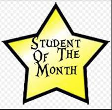 Students of the Month!