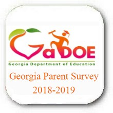 GEORGIA PARENT SURVEY (SCHOOL CLIMATE RATING) - FROM THE GEORGIA DEPARTMENT OF EDUCATION