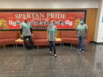 Showing our Delco (and Spartan) Pride!