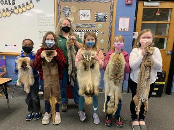 Snow Detectives in Third Grade
