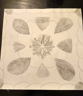6th Grade Radial Symmetry Project