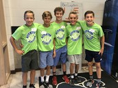 6th Grade WEB Assembly and Activities, August 15th - Highlights: