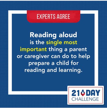 Are you up for the 21-Day Read Aloud Challenge?