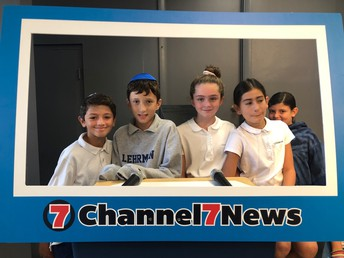 Fifth Grade Mitzvah Club makes the news.