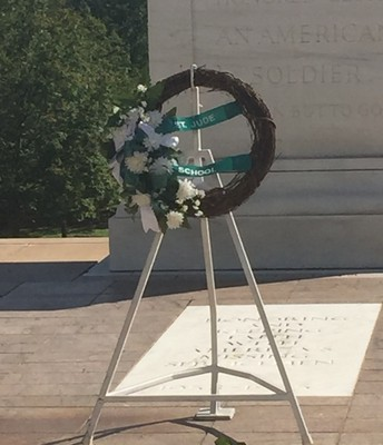 Wreath Ceremony at the Tomb of the Unknown Soldier