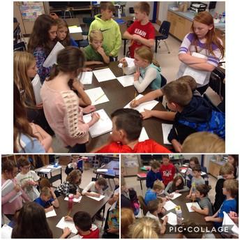 Fishbowl Teaching in 4th Grade!