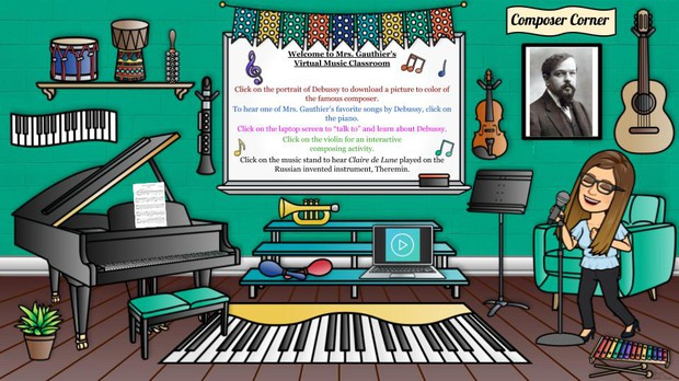 November - Mrs. Gauthier's Virtual Music Classroom