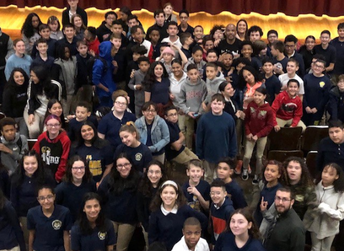 DMC Visits Hoboken Middle School