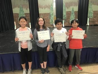 6th Grade Art Awards