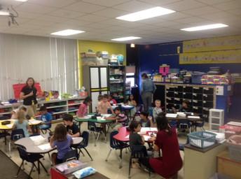 Mrs. Fonk PM Kindergarten Class