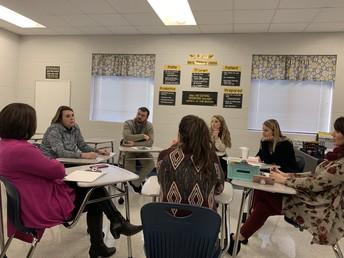 SMS Math Teachers Visit other Schools